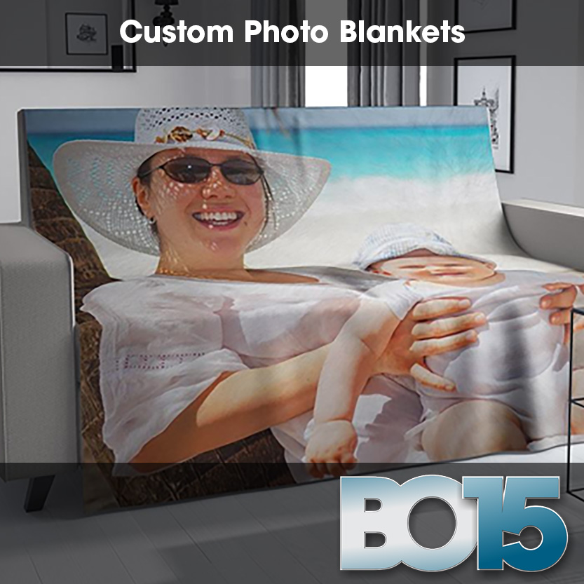Bo15 - Customized Photo Blankets