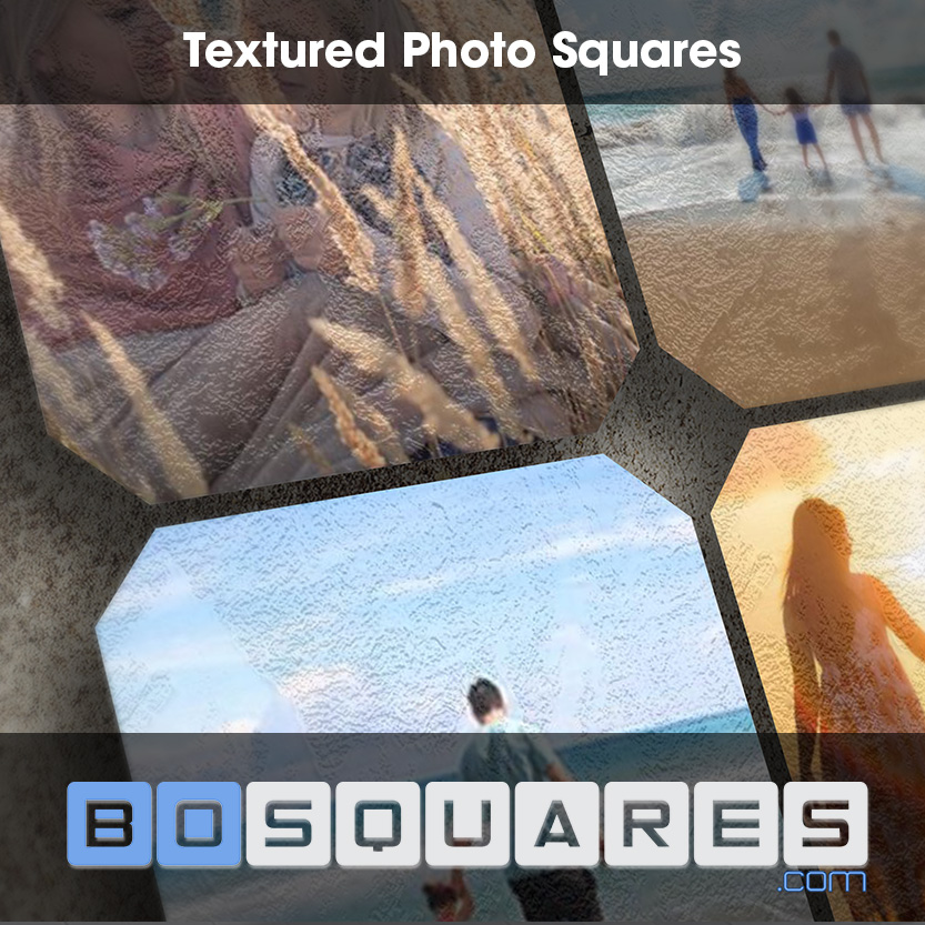 BoSquares - Textured Photo Squares