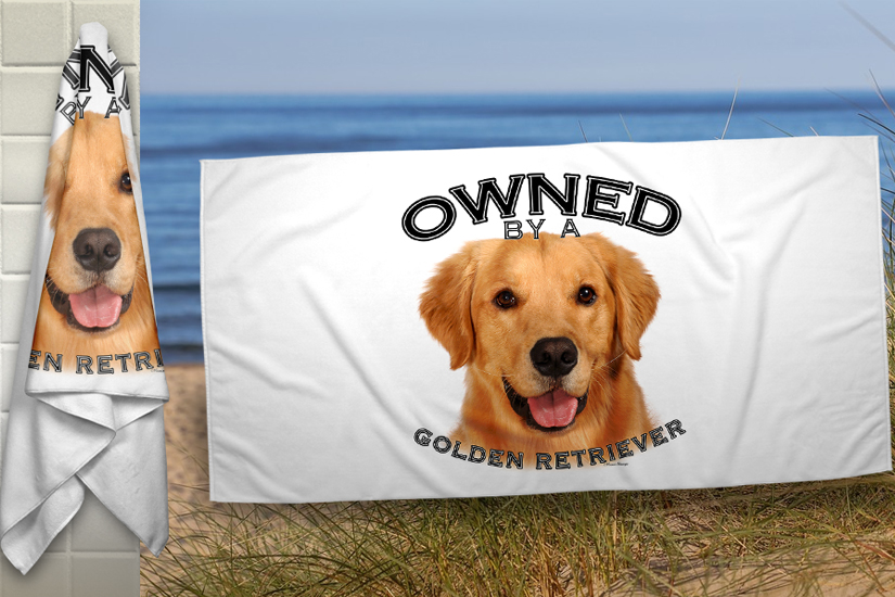 PetPro1210 - Golden Retreiver Blanket