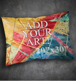 Pillow Case - 20x30 - PRINTED