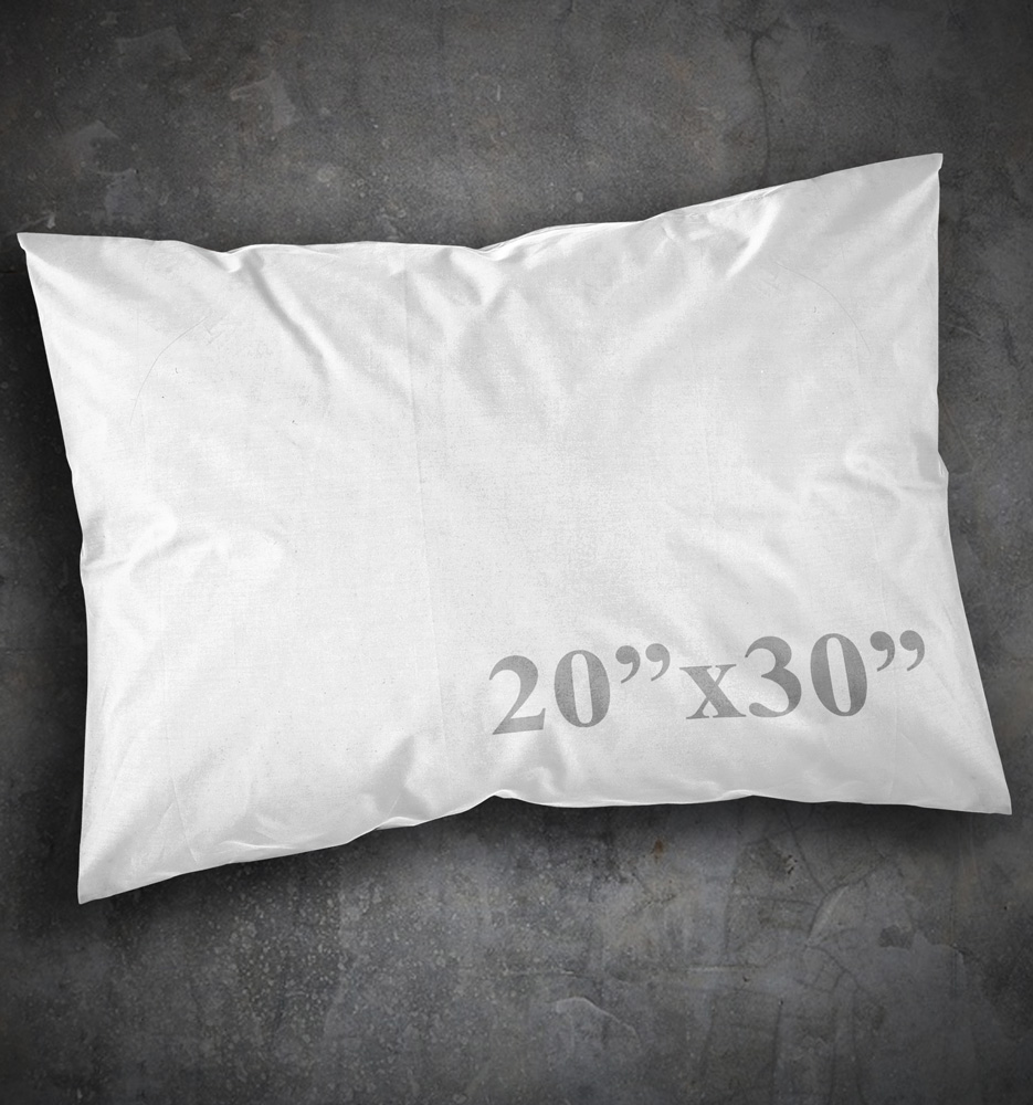 Pillow Case - 20x30 - PRINTED