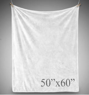 Plush Blanket - 50x60 - PRINTED