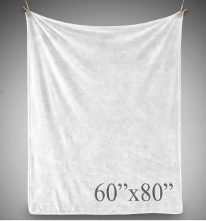 Plush Blanket - 60x80 - PRINTED