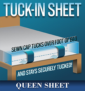 Tuck-In Sheet - QUEEN
